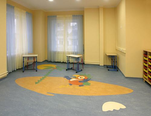 Коммерческий линолеум в детских учреждениях