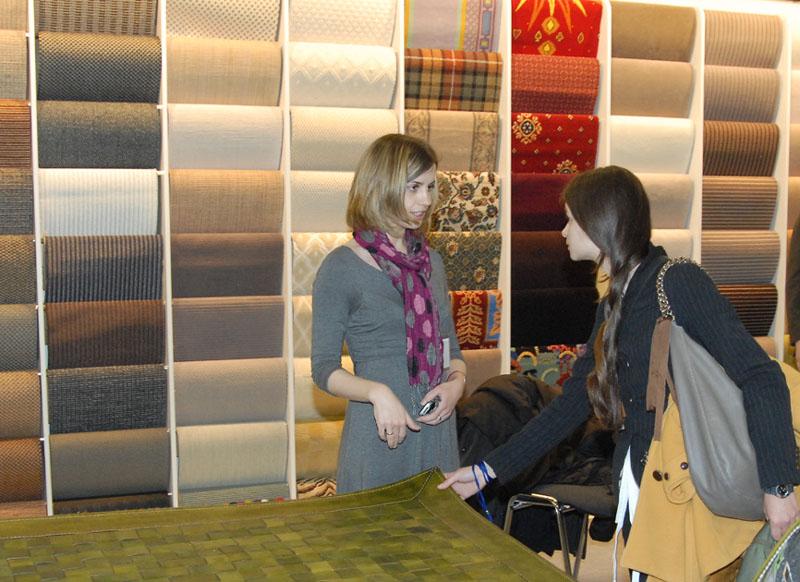 Количество расцветок ковровых покрытий измеряется тысячами
