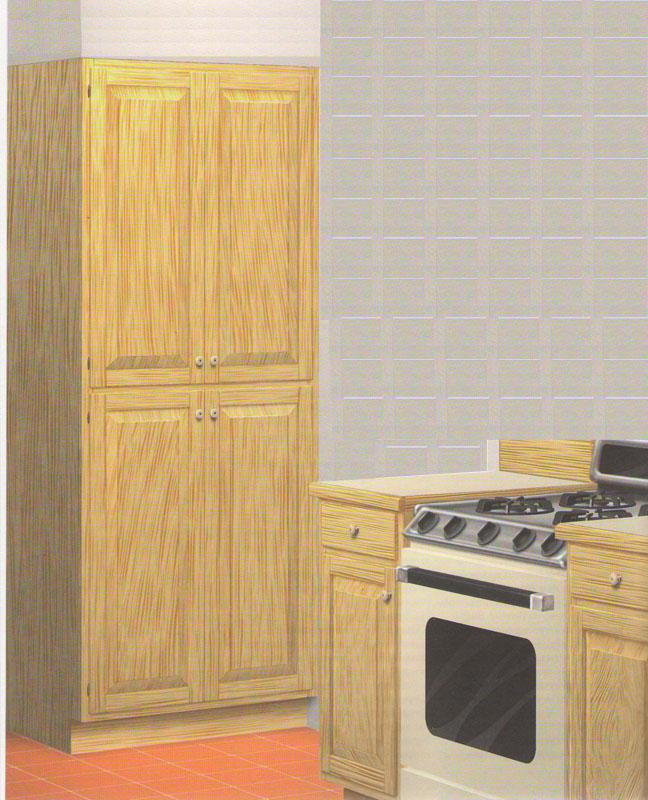 Шкаф-пенал для кухни своими руками