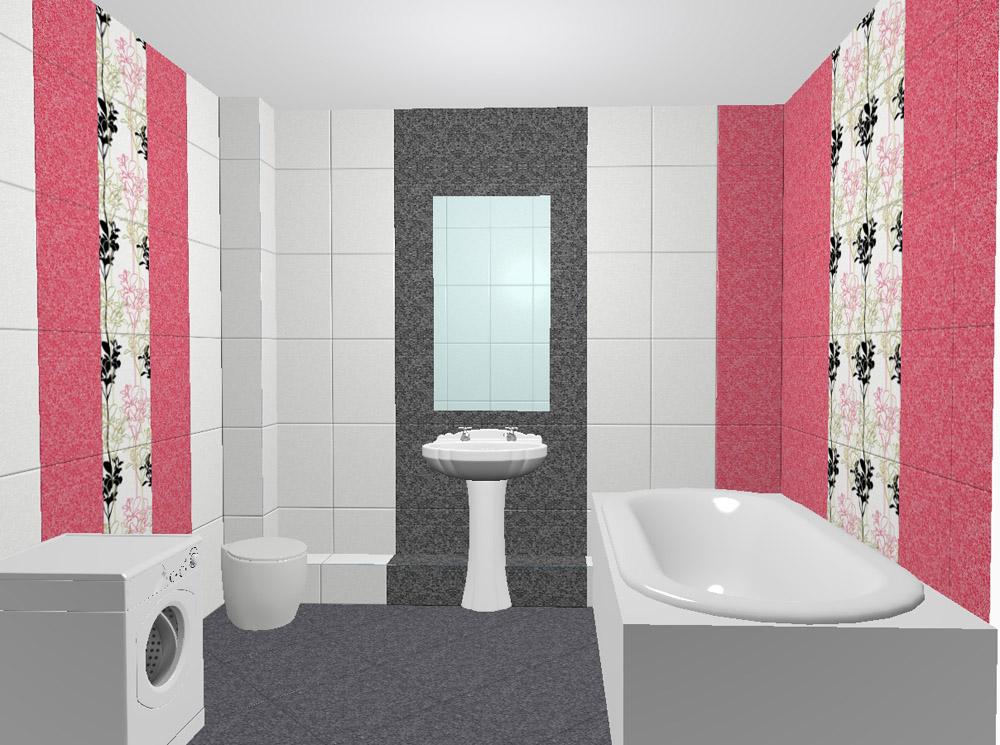Асортимент плитки для ванной позволяет создавать самые необычные интерьеры