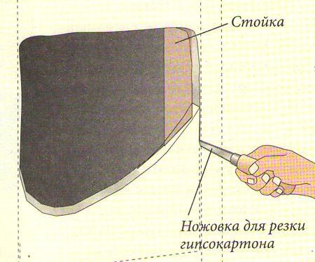 Вертикально уложенная плитка с рельефной поверхностью