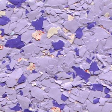 Флоковая смесь, доминируют синие оттенки