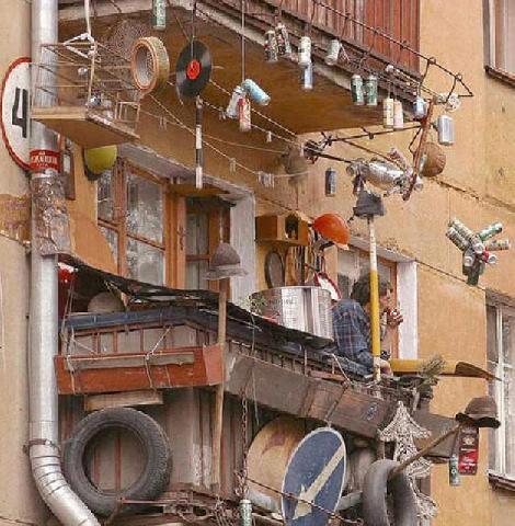 Антидизайн балкона. Но каждый вправе быть самим собой
