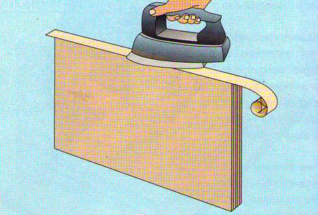 Мебельная лента, для оклеивания кромок фанеры