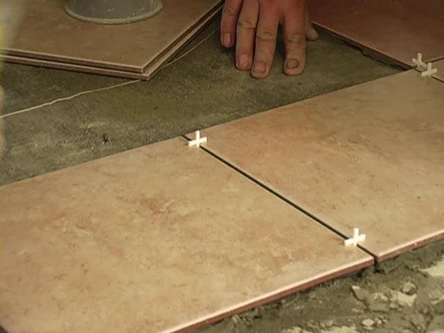 Плитка для пола не может быть тоньше 9 мм