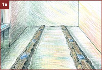 Готовые маятники для выравнивания пола и стен под плитку