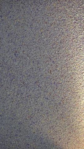 Флоковое покрытие с малорельефной поверхностью