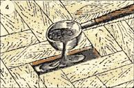Заливка битумной мастики