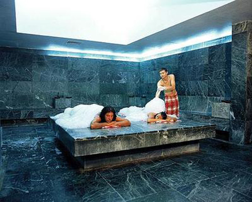 Процедуры в хаммаме отличаются от всех типов бань