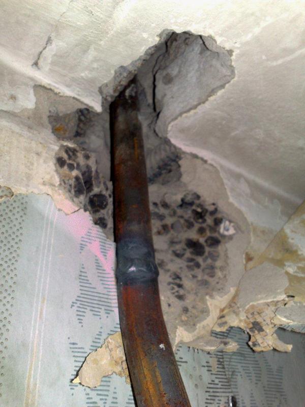 Стояк отопления в панельном доме