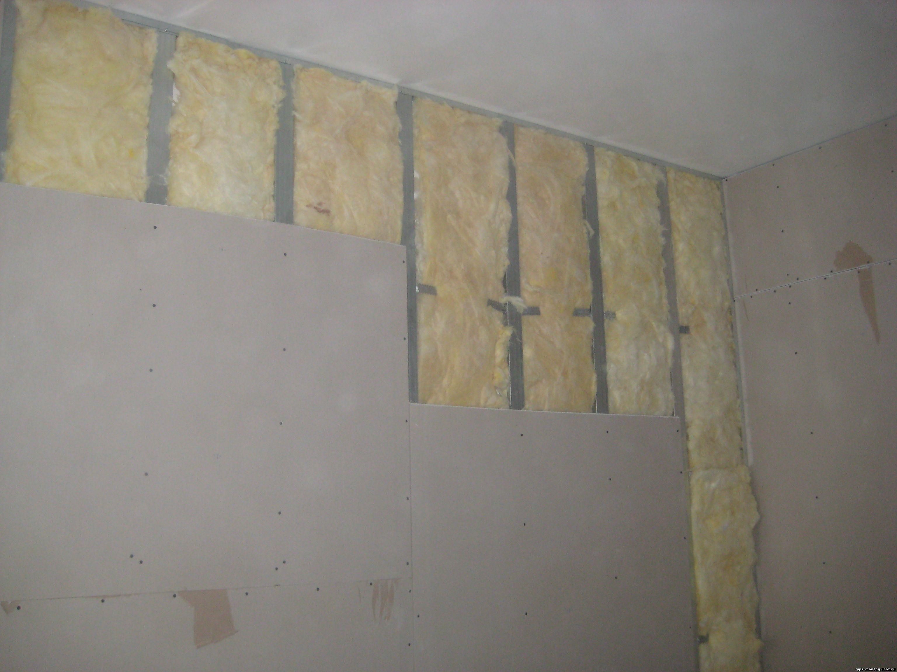 Стены из гипсокартона монтаж своими руками