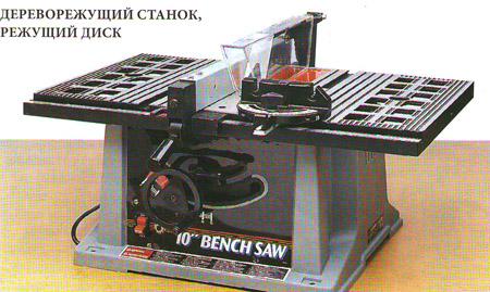 Дереворежущий станок для изготовления мебели