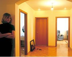 Холл квартиры после перепланировки