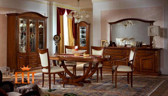 Фанерованная мебель в доме