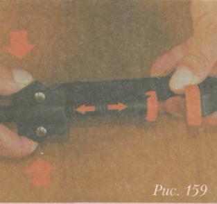 Склеивание древесины - Использование струбцины