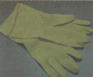 Рис.4. Резиновы перчатки для покраски валиком