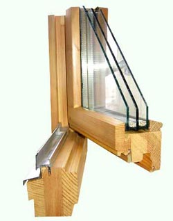Конструкция качественного деревянного окна
