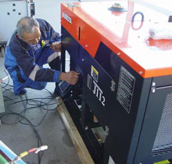 Дизельный электрогенератор экономичен и надежен, но в сильные холода может доставить много проблем из-за замерзшего топлива