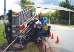 Установка горизонтально-направленного бурения Grundodrill 13X/15X фирмы Tracto-Technik.
