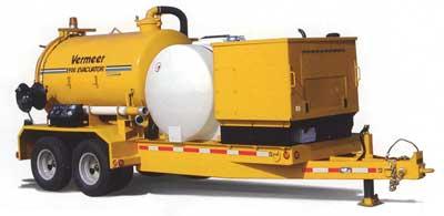 система вакуумной экскавации грунта Vermeer E900 EVACUATOR