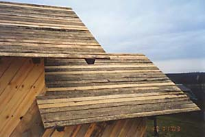 Крыши мезонина