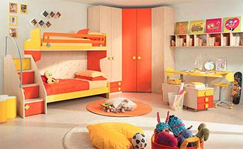 Интерьер детской комнаты, ремонт детской комнаты