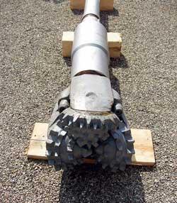 Трехшарошечное долото диаметром 540 мм.