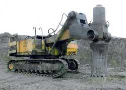 Агрегат для глубокого трамбования грунта